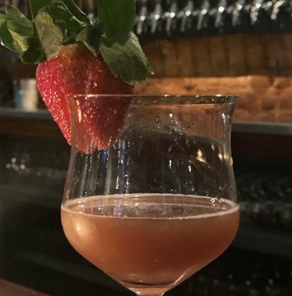 strawberyy drink